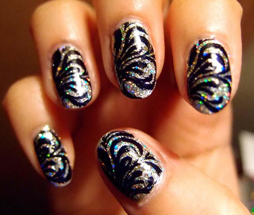 Новые рисунки на ногти