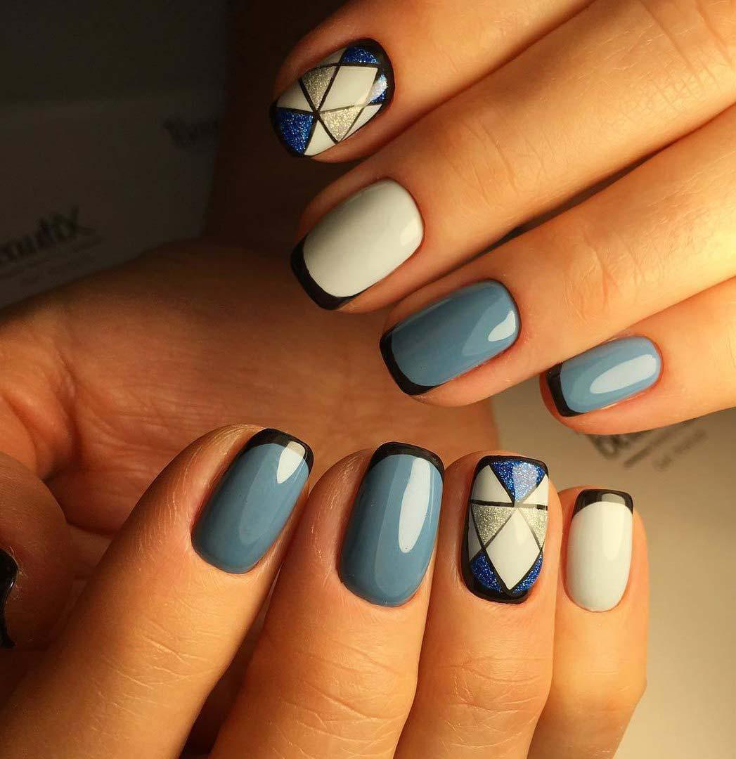 Маникюр ногтей модные тренды