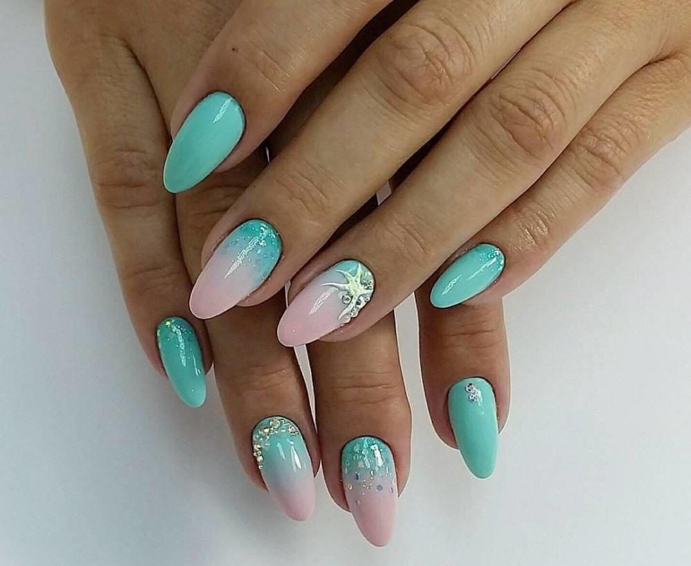 Веселый дизайн ногтей фото свет, зрительно