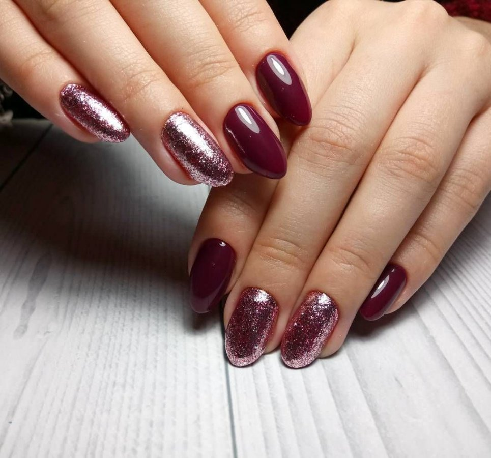 гостеприимные дизайн ногтей в бордовом цвете фото озеро