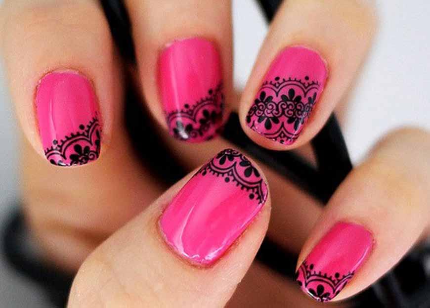 designs-for-nail-art-pen Шеллак на ногтях 100 фото новинок