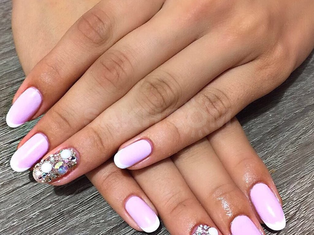 Картинки шеллак ногтей на лето