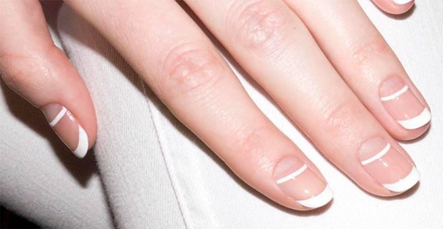 Французский маникюр - 95 фото новинок дизайна ногтей