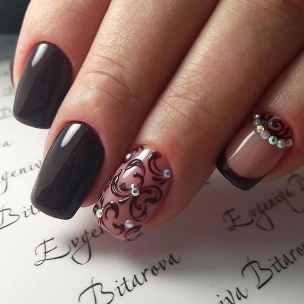 Фото-идеи дизайна ногтей шеллаком и особенности