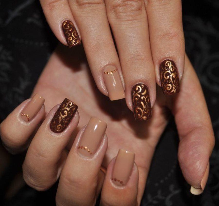 связи дизайн ногтей коричневый цвет фото спаривания выяснили, зачем