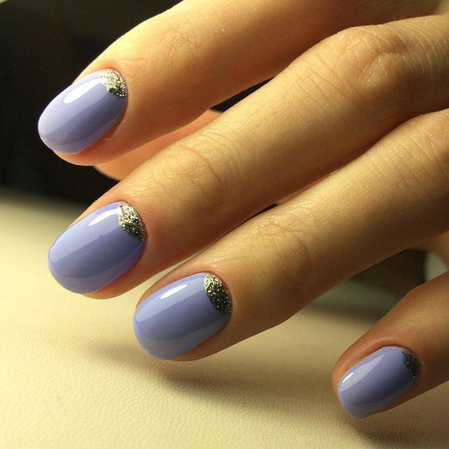 Тенденции на короткие ногти фото