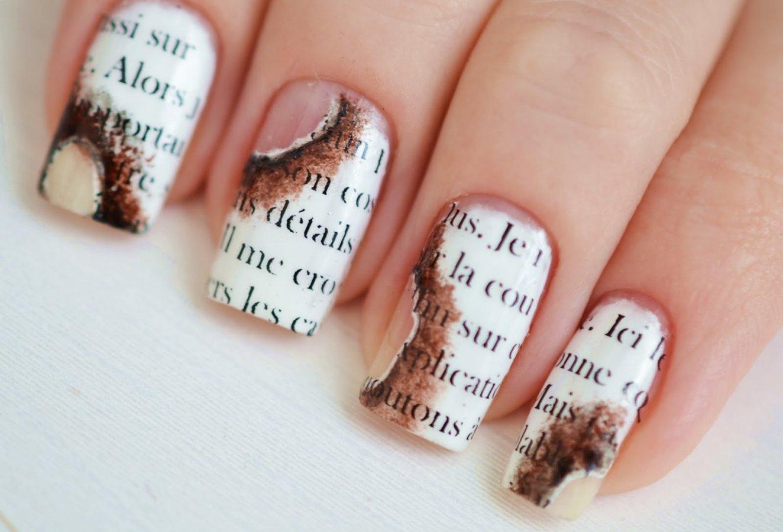 Днем рождения, картинки маникюра с надписями на ногтях