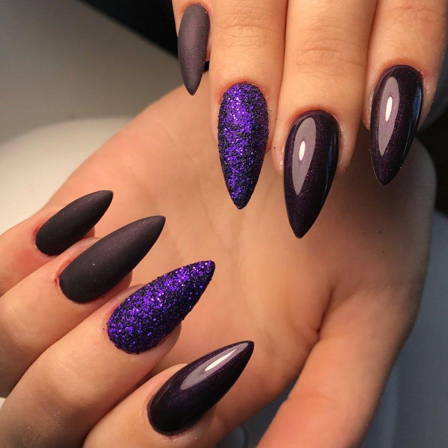 Дизайн ногтей 2020 фото миндалевидной формы