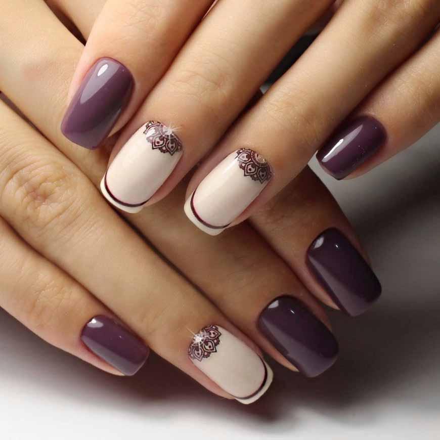 modnye-novinki-dizajna-nogtej-47 Дизайн ногтей шеллак: 100 лучших фото нейл-арта в разных цветах и стилях