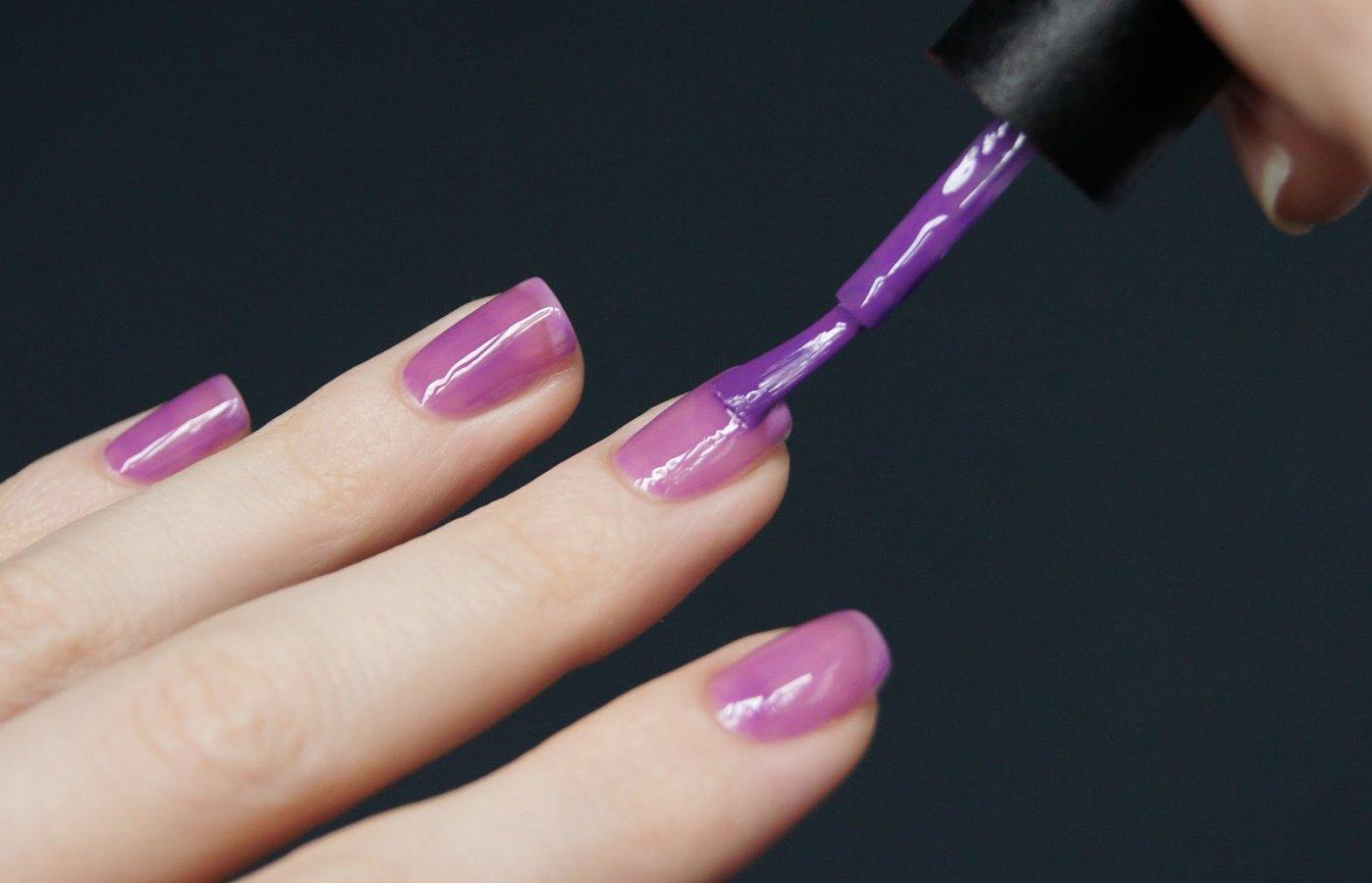 Фото домашних ногтей