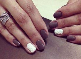 Яркий маникюр на короткие ногти фото дизайн