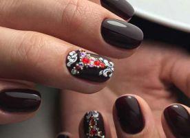 Варианты маникюра на короткие ногти шеллак фото