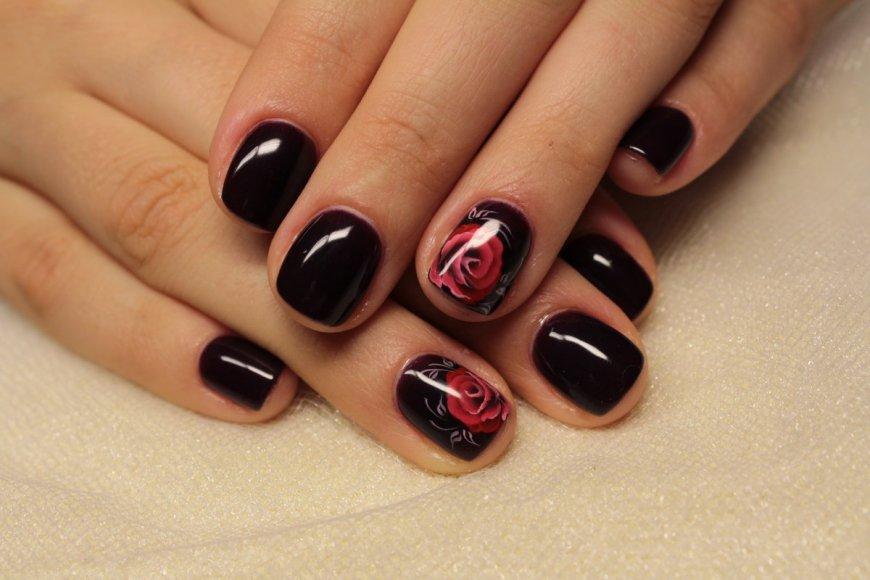 Гель-лак натурального цвета для коротких ногтей: маникюр, фото дизайна ногтей