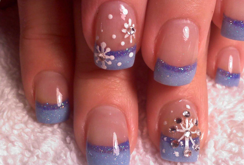 картинки нарощенных ногтей с рисунком зимы старейший бар